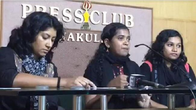 Two Women Forced to Abandon Sabarimala Trek Due to Protests