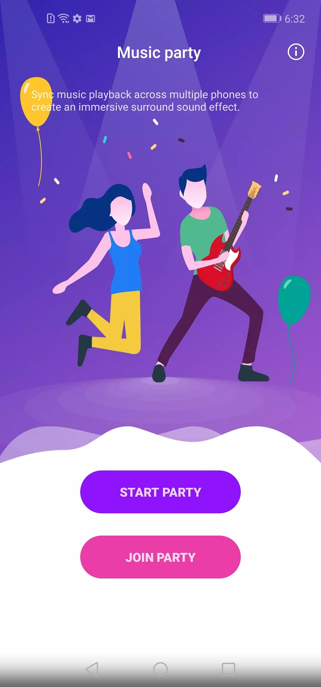 Honor View 20's party mode allows you to sync music playback across various phones.