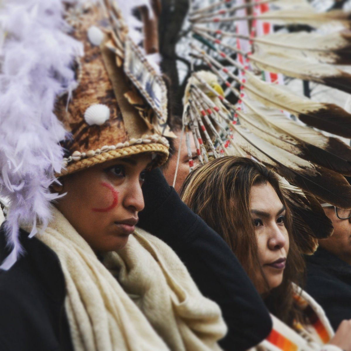 Visuals from the Indigenous People's March.