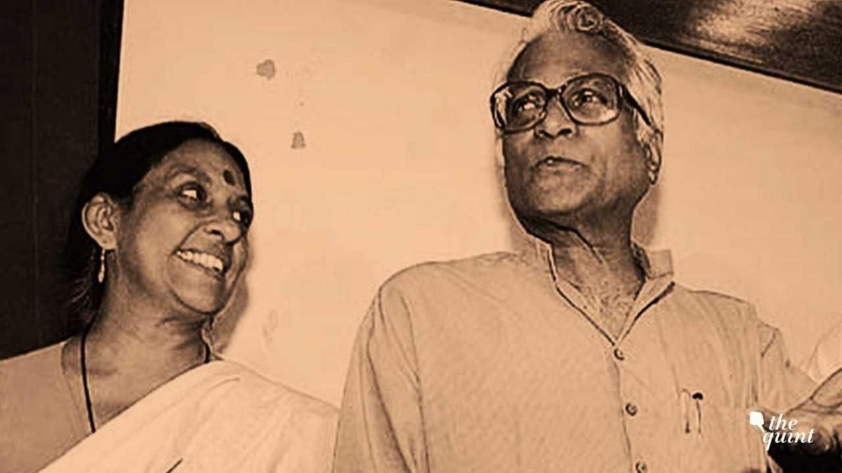 Jaya Jaitly with George Fernandes.