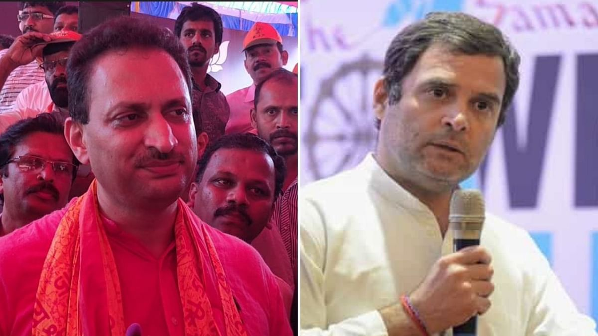 Unfit to be Union Min: Rahul Slams Hegde For 'Muslim Wife' Remark