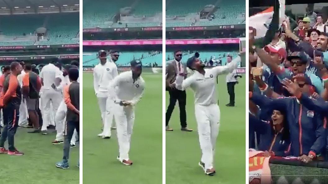 Watch Rishabh Pant's 'Babysitter' Dance After India's Aus Win