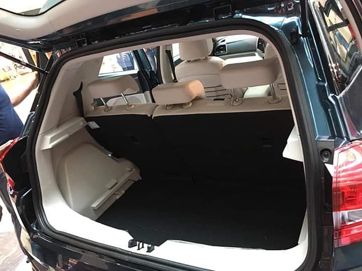 The boot may not be as big as its competitors, but the 60:40 split folding seats can free up more space.