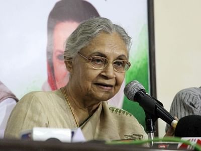 Congress leader Sheila Dikshit. (File Photo: IANS)