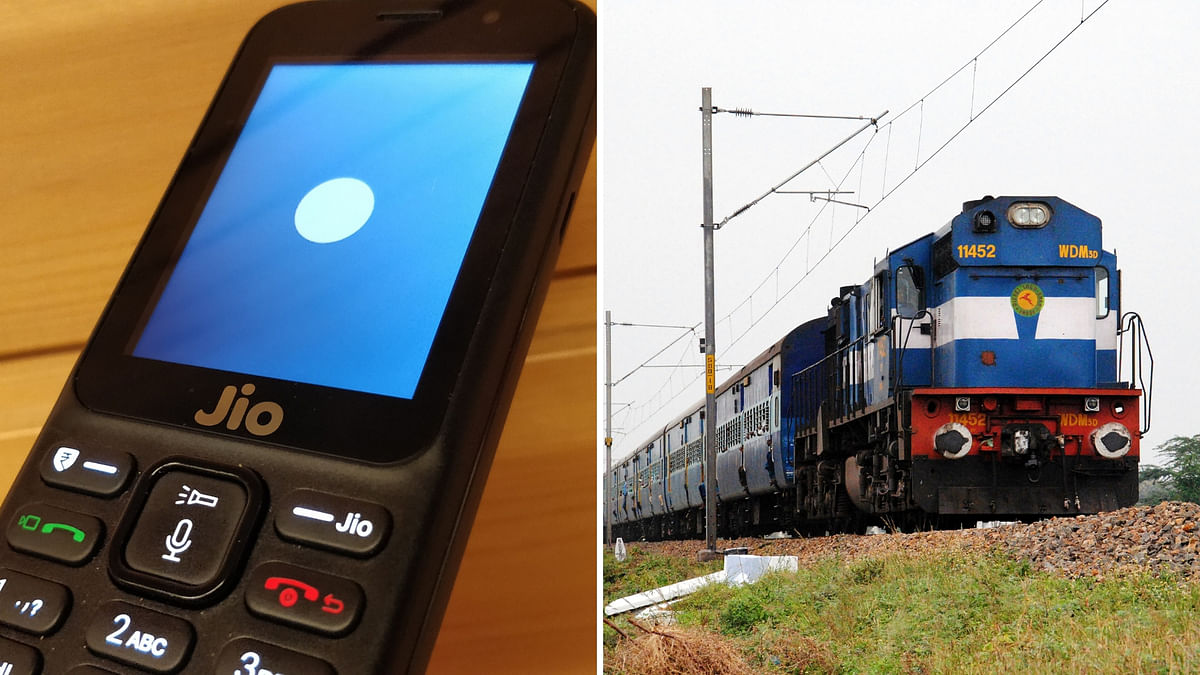 Reliance Launches JioRail App To Let JioPhone Users Book Tickets