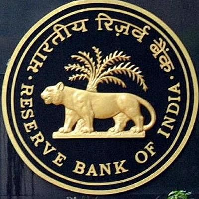 Reserve Bank of India (RBI) logo.