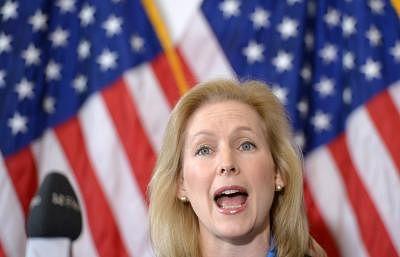 US Democratic Senator Kirsten Gillibrand to run for President
