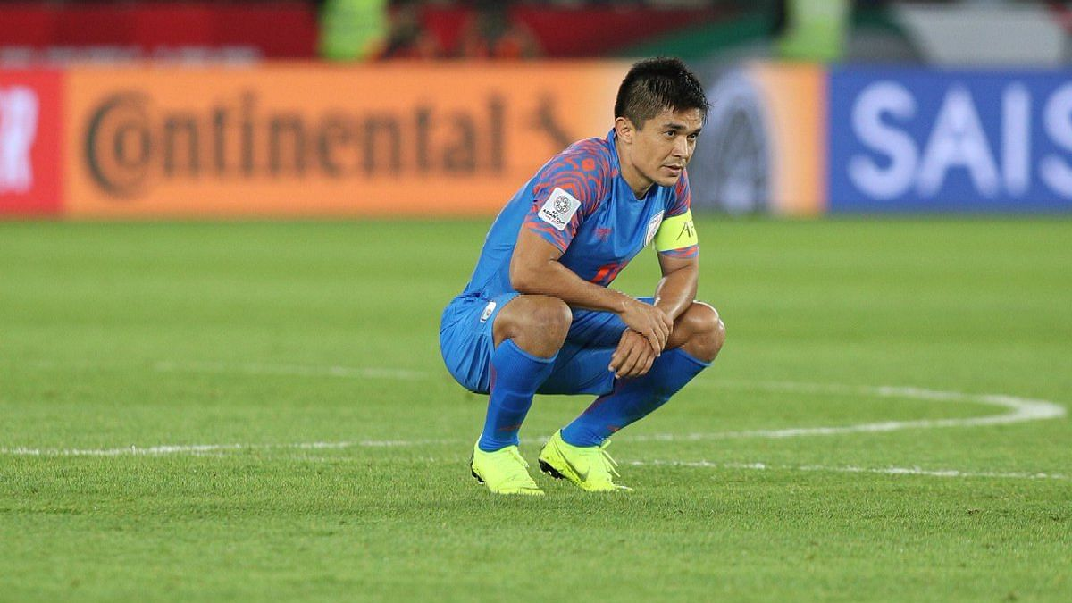 The Asian Cup was probably Sunil Chhetri's last major international tournament for India.