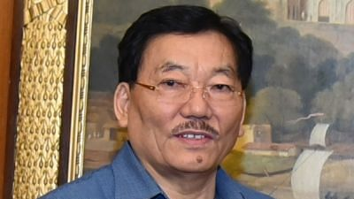 File Photo of Sikkim's Chief Minister Pawan Kumar Chamling, whose party, the Sikkim Democratic Front (SDF), aims to implement Universal Basic Income (UBI) in the state.