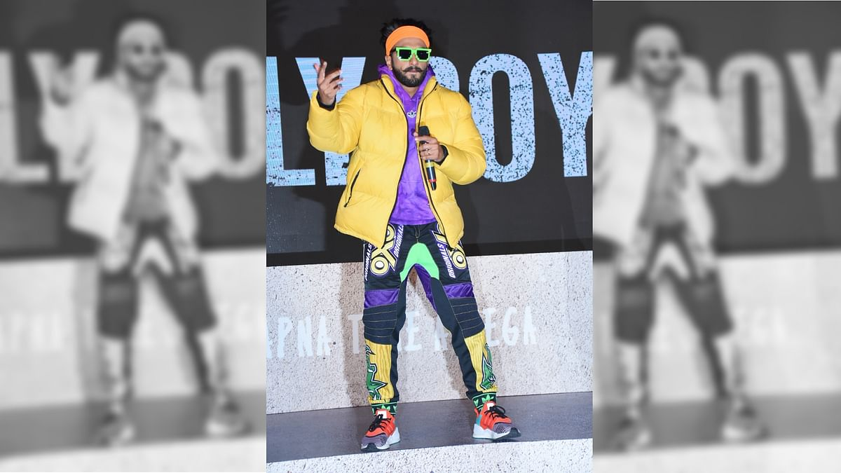 I Was Born to Do 'Gully Boy', Says Ranveer Singh