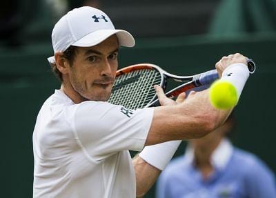 Andy Murray. (Xinhua/Jin Yu/IANS)
