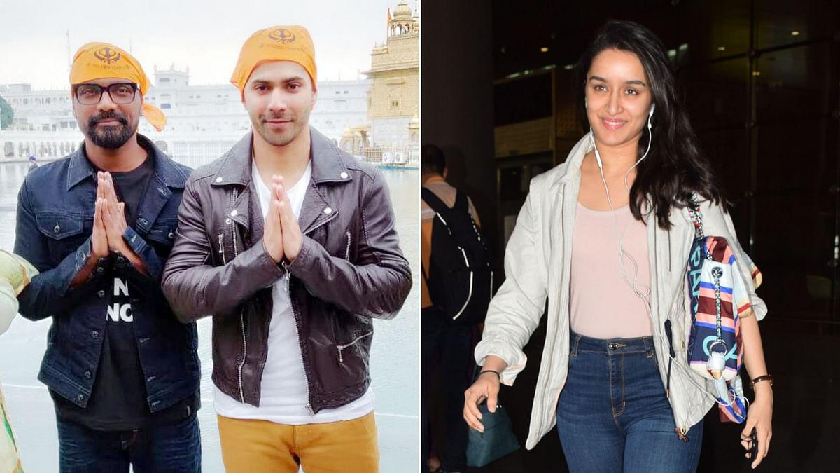 Varun Dhawan and Shraddha Kapoor co-star in Remo D'Souza's upcoming dance film.