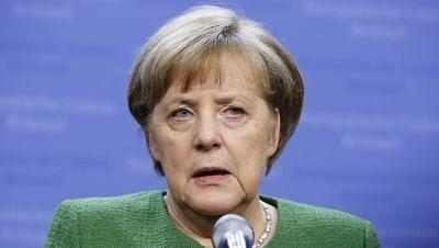 File image of German Chancellor Angela Merkel.