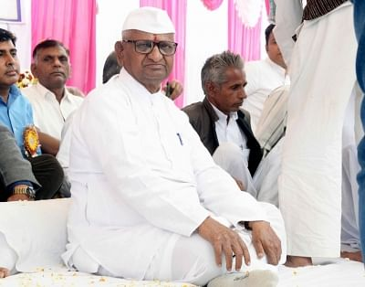 Social activist Anna Hazare. (File Photo: IANS)