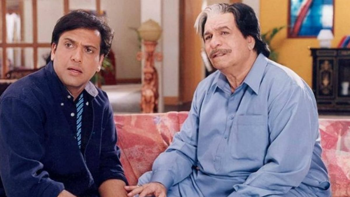 Govinda and Kader Khan co-starred in several successful films in the '90s.