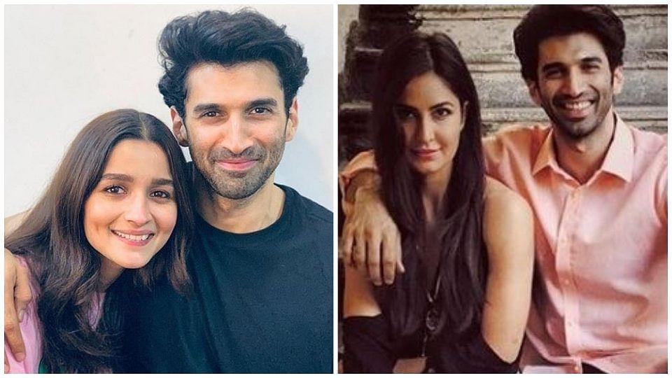 Alia Bhatt and Katrina Kaif shared pictures with Aditya Roy Kapur on Instagram.