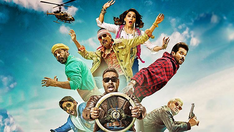 Poster of <i>Total Dhamaal</i>.