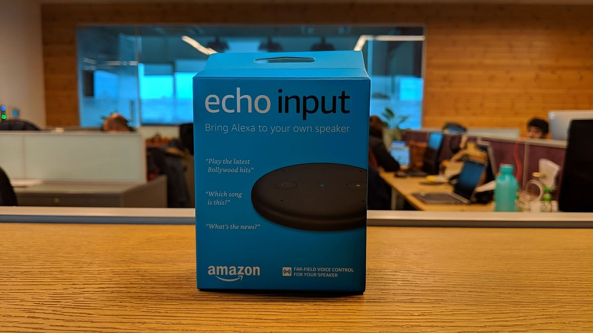 Amazon Echo Input is the latest product to launch in India.
