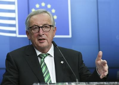 European Commission President Jean-Claude Juncker  (Xinhua/Ye Pingfan/IANS)
