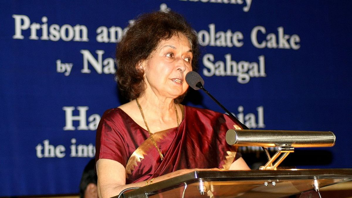 What Did Nayantara Sahgal Want to Say That Got Her Speech Canned?