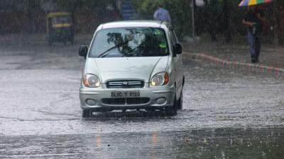 Light rain in Delhi-NCR, respite from heat.