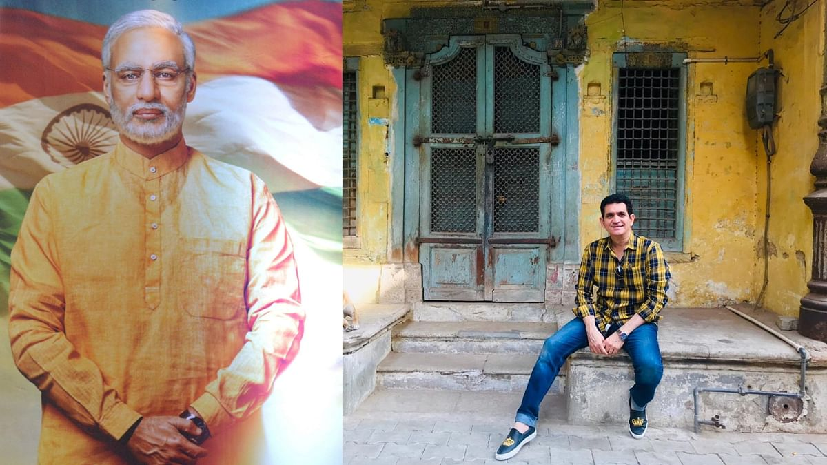 Director Omung Kumar visits PM Narendra Modi's childhood home in Gujarat.