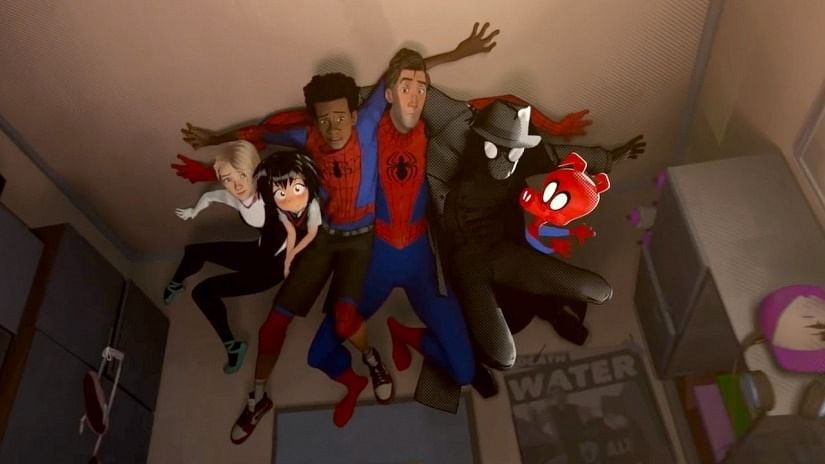 All the spideys