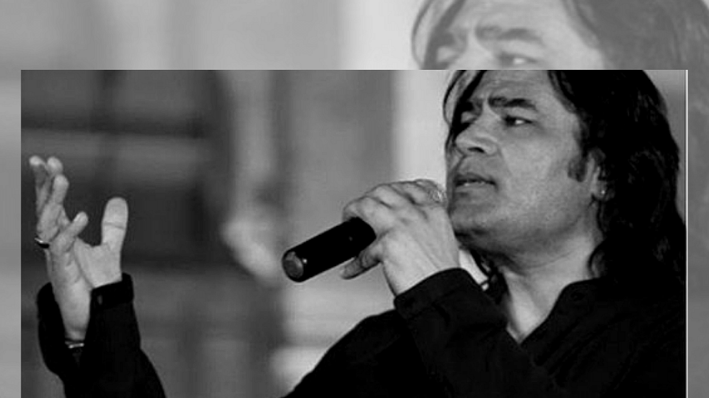 Pakistani singer Shafqat Amanat Ali.