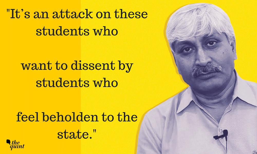 Universities Needn't be Nationalistic: DU Professor Apoorvanand