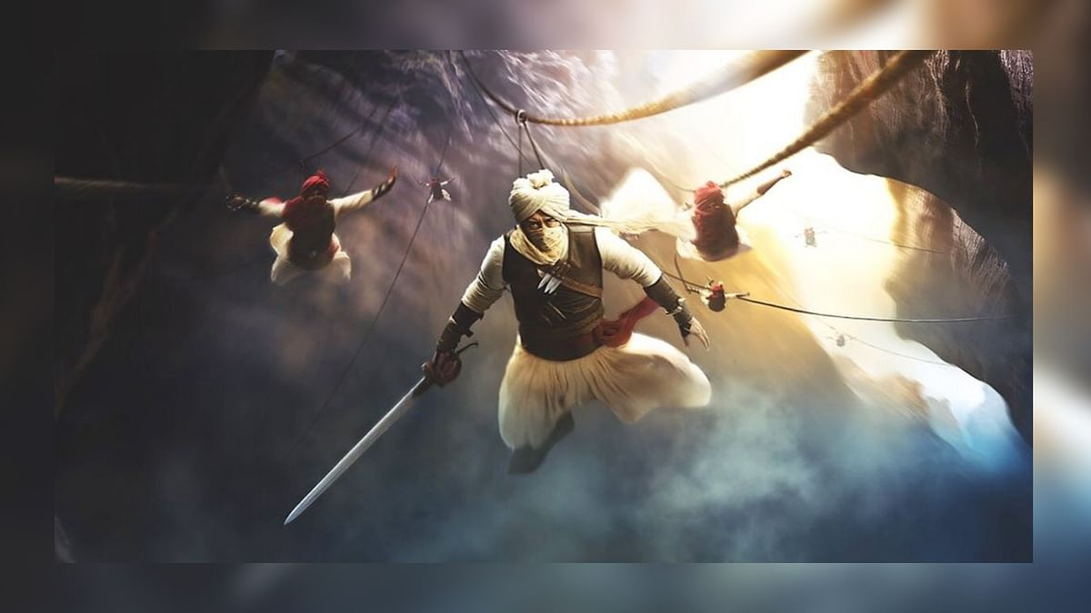 Ajay Devgn Dons A Fierce Maratha Warrior Avatar in 'Taanaji'