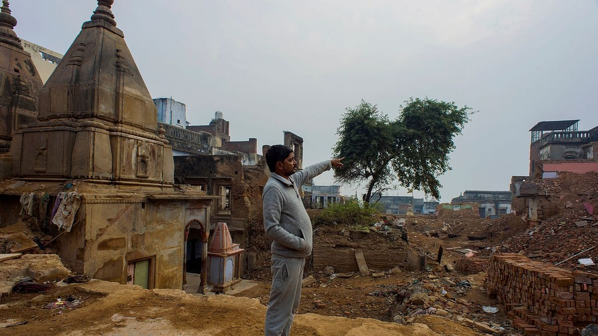 In Pics: Modi's Varanasi Kashi Project Faces Local Resentment