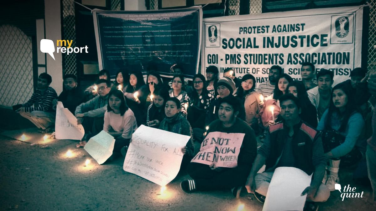Why We Cried #InjusTISS at the Guwahati Campus