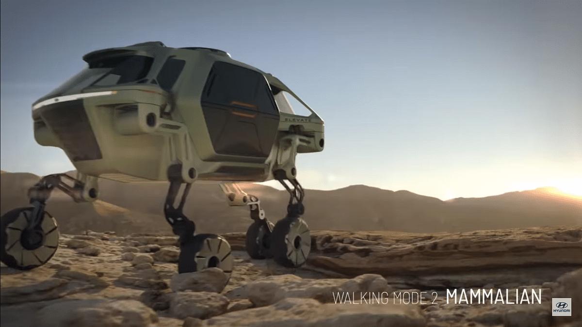 CES 2019: Hyundai Showcases Concept Car That Can Walk!