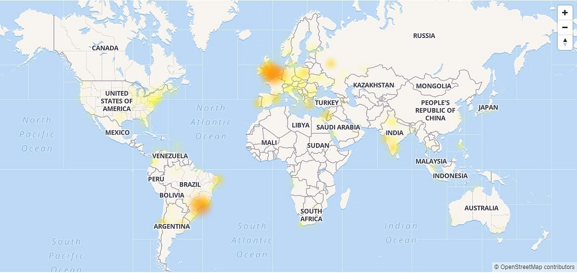 Gmail down in many parts of the world.