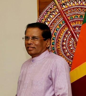 President of Sri Lanka Maithripala Sirisena. (File Photo: IANS)