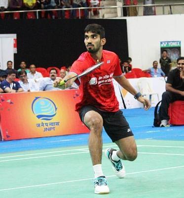 Badminton player Kidambi Srikanth. (File Photo: IANS)