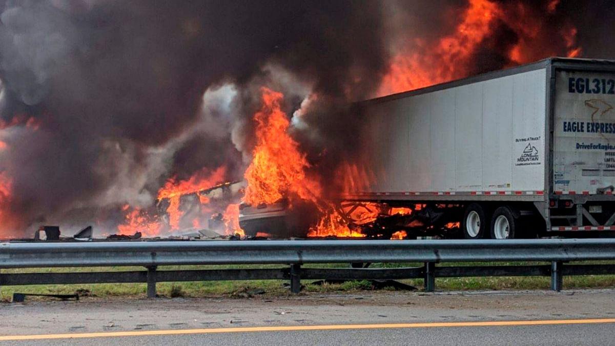 5 Children Among 7 Killed in Fiery Florida Crash