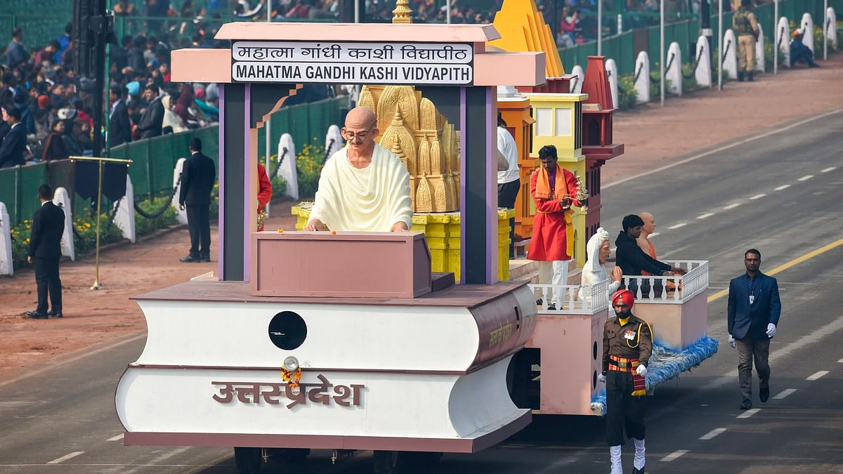 22 Mahatma Gandhi-Themed Tableaux to Be Showcased on Republic Day