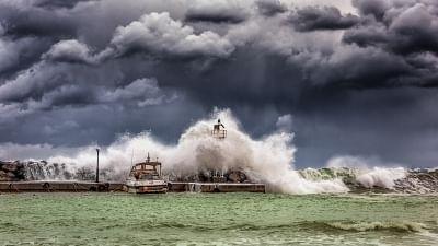 Rain storms. (Photo: IANS)