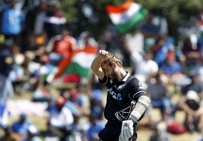 New Zealand captain Kane Williamson. (Photo Surjeet Yadav/IANS)