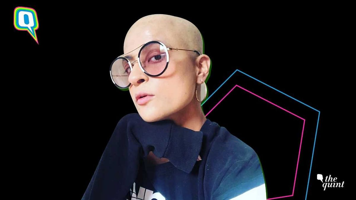 Tahira Kashyap goes bald.
