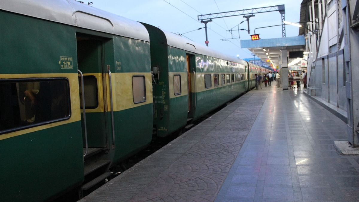 A file photo of Garib Rath train used for representation only.