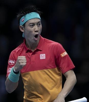 Kei Nishikori. (Xinhua/Han Yan/IANS)
