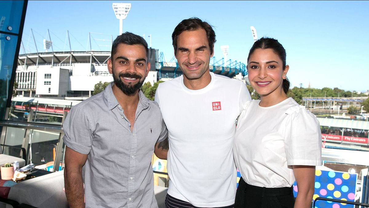 Soaking The Aussie Sun: Virat, Anushka Enjoy a Day Out at Aus Open