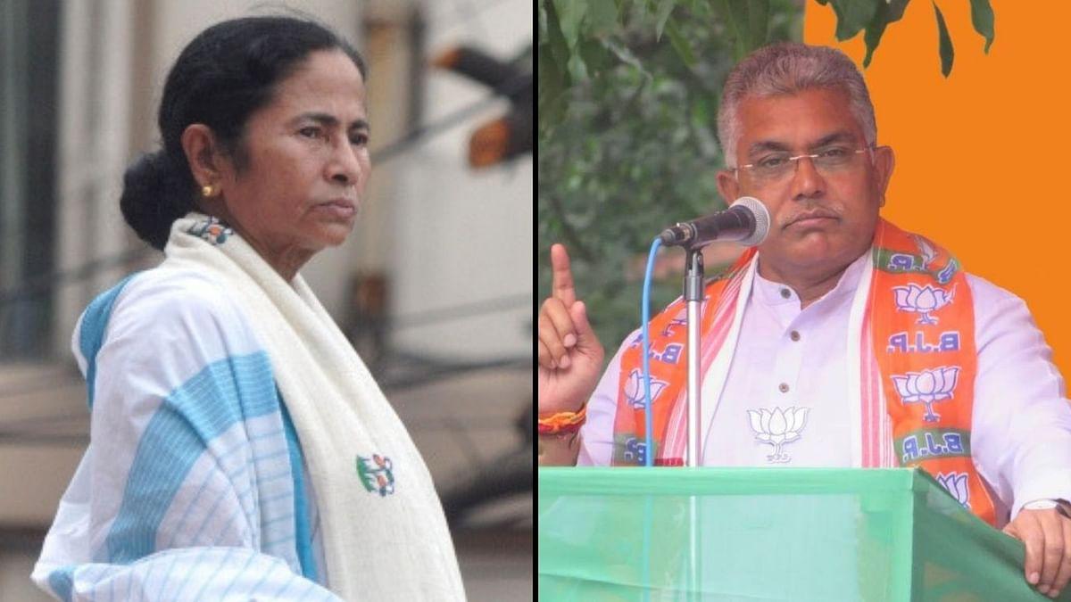 Narada Case: Dilip Lodges FIR Against WB CM's Dharna at CBI Office