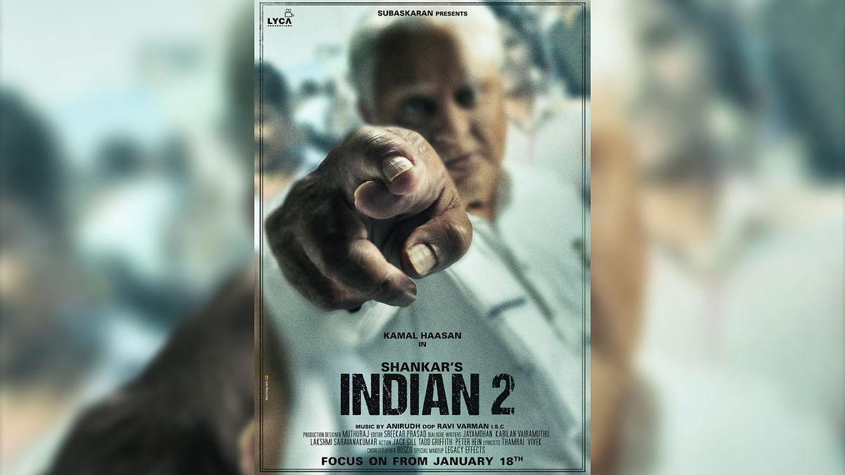 Older, Wiser, Deadlier: New Poster of Kamal Haasan's 'Indian 2'