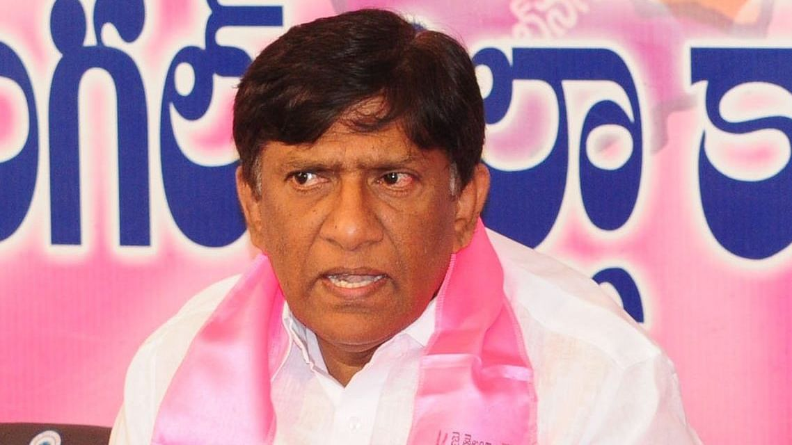 TRS MP B Vinod Kumar said his party supports the use of Electronic Voting Machines.