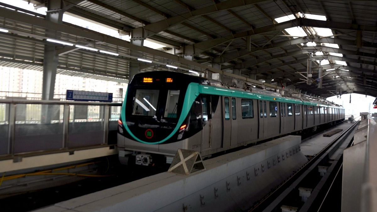 'Aqua Line' of Metro Linking Noida-Greater Noida  Opens for Public