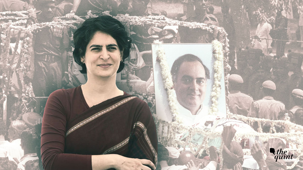 """From a """"furious"""" 19-year-old to a """"forgiving daughter"""", how Priyanka Gandhi accepted her father, Rajiv Gandhi's death."""