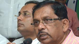 Karnataka Home Minister G Parameshwara.